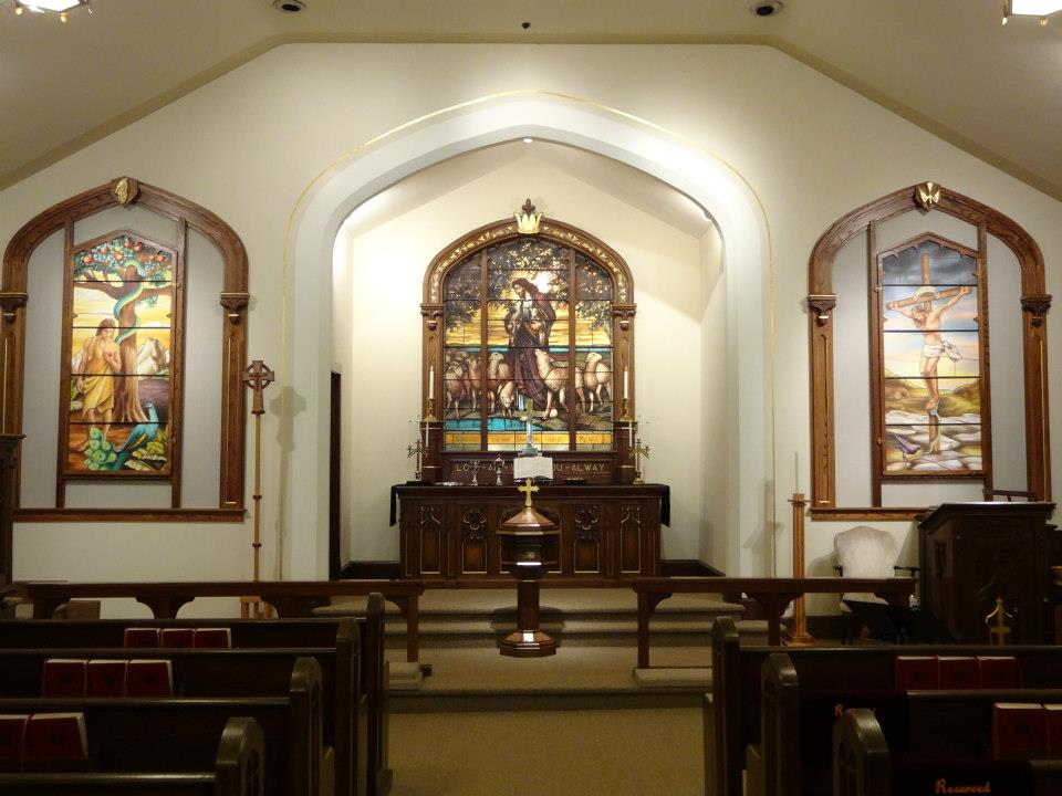 Lenten Triptych at Epiphany Lutheran Church