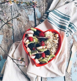 brown rice breakfast natural nurturer