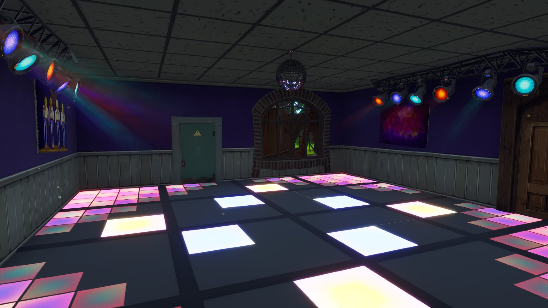 Animal Crossing Fall Wallpaper Fortnite Salles De Disco Pour Les D 233 Fis De La Semaine 9