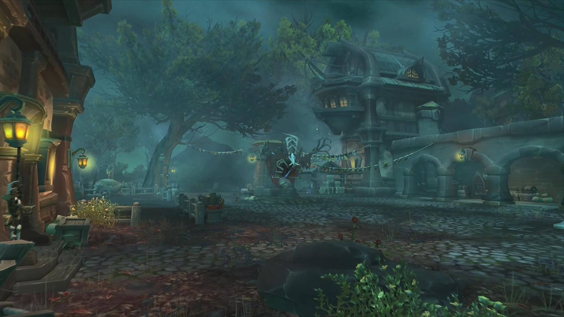 Animal Crossing Fall Wallpaper Wow Drustvar Zone De L Extension Battle For Azeroth