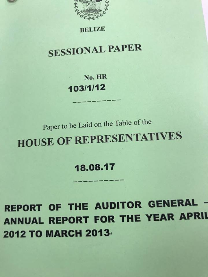 BREAKING Does the Audit Report on Ministry of Works reveal another - audit report
