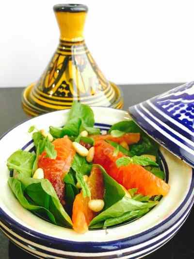 Blood Orange and Watercress Salad