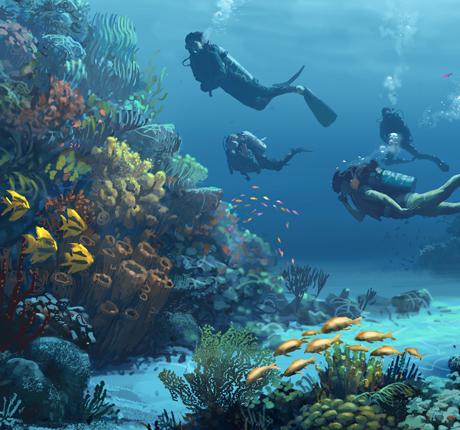 Masterplanning: Aquatic Park, UAE