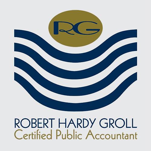 Robert Hardy Groll Logo Design