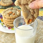 These Gluten Free Butterscotch Milk Chocolate Soft Batch Cookies are the perfect mixture of chocolate and butterscotch. A treat your whole family is sure to love!