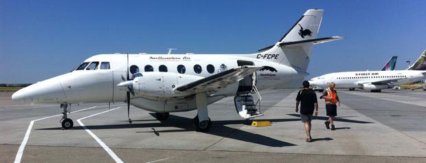 Von Edmonton ging es in einer Jetstream 31 zunächst nach Fort Smith