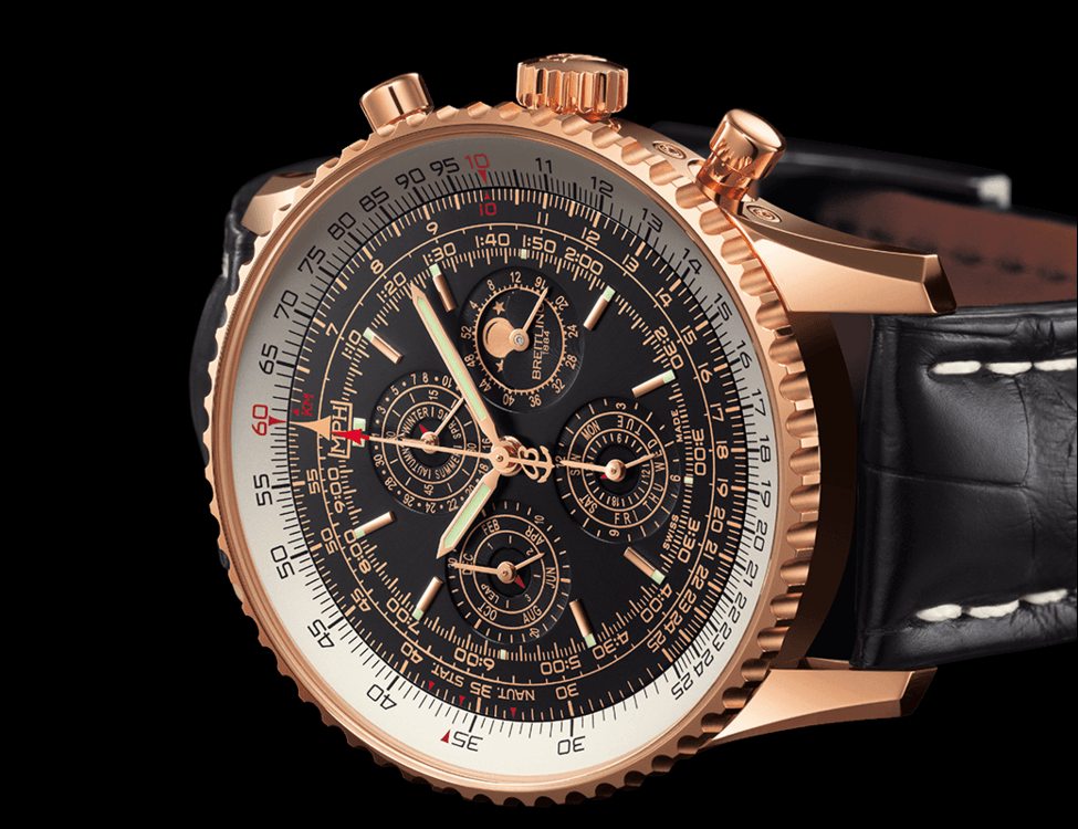 Gold Perpetual Calendar Chronograph Creationwatches Buy Watch Online Seiko Watches Breitling Navitimer Qp Swiss Perpetual Calendar Watch