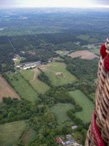 vol en montgolfière en Morbihan