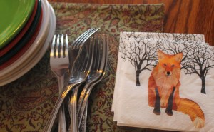 Fox napkins