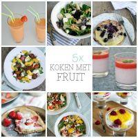 5x koken met fruit
