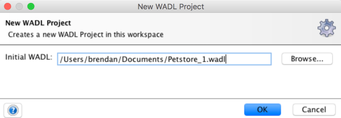 New Wadl Project