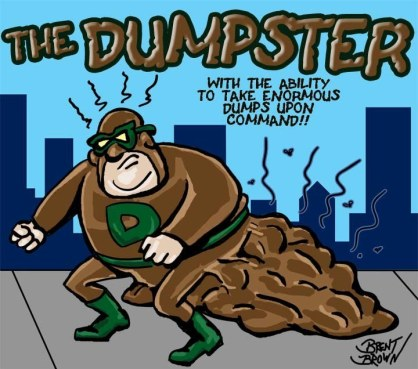 THe Dumpster by Brent Brown