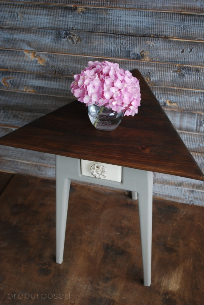 Triangle Topped Table