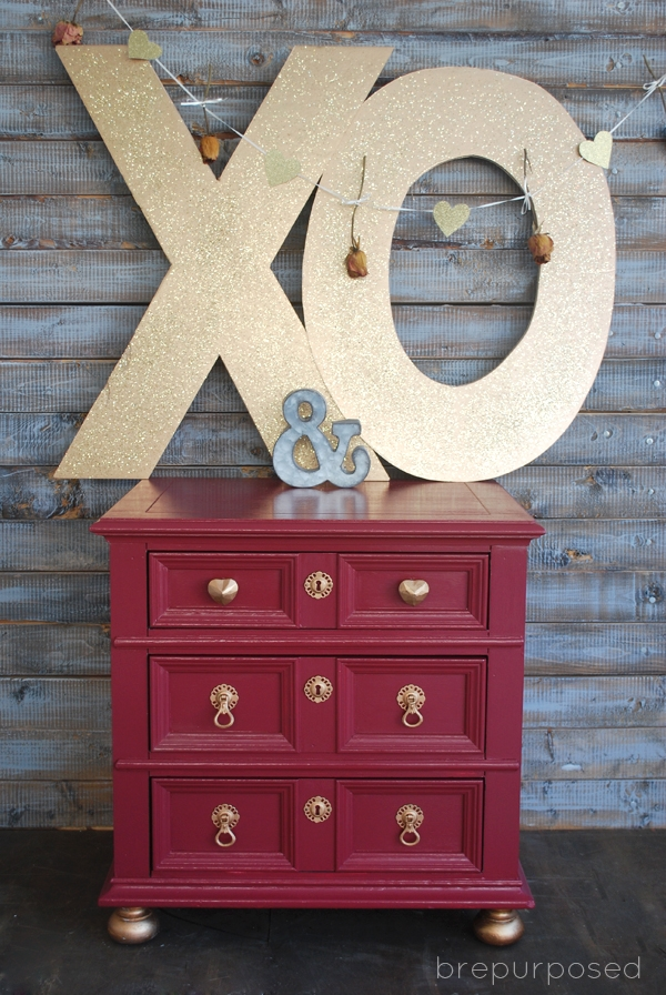 Marsala Makeover :: 10 Days of Valentines