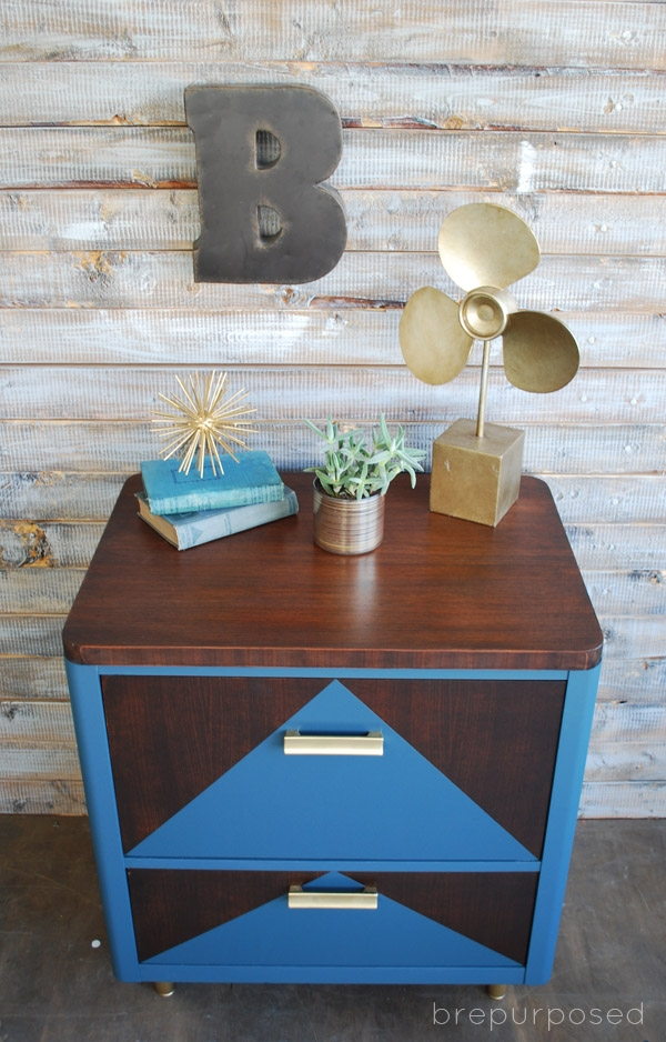 MCM Two Toned Table