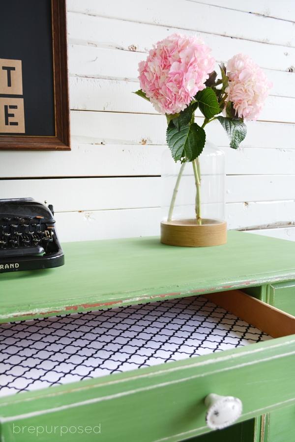 Tavern Green Shabby Chic Desk