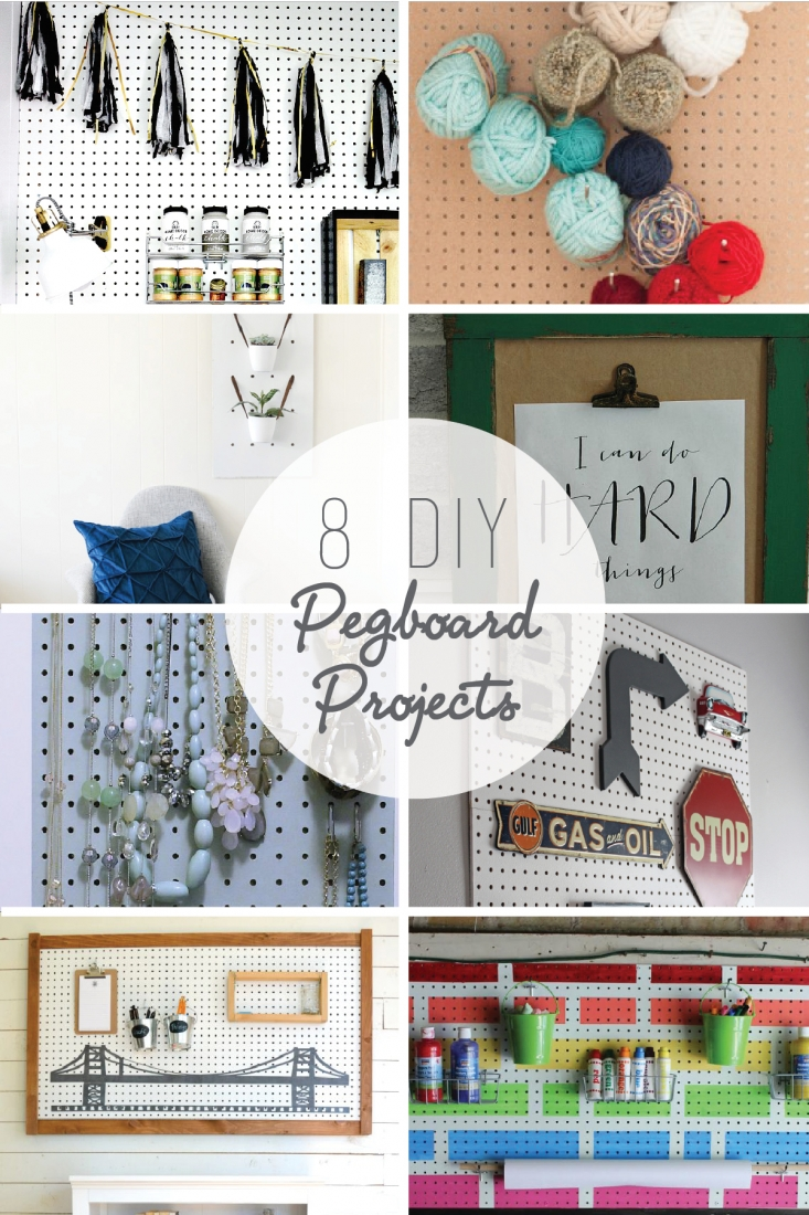 8 DIY Pegboard Projects