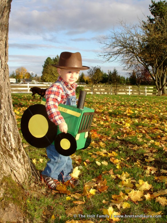 John Deere Tractor Costume for Children