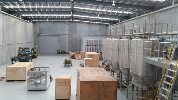 The RedDot Truganina brewery now in progress