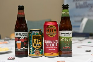 Portland beers on offer at the Travel Oregon and Travel Portland dinner in Sydney - Photo by Sarah Keayes/The Photo Pitch