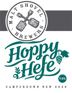 First release: Hoppy Hefe