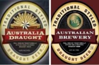 L-R: The Broo mark and the Australian Brewery mark