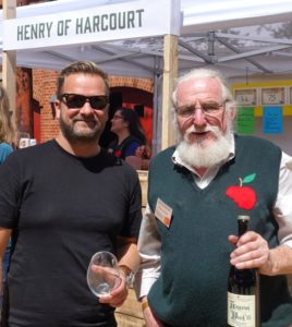 L-R: Bill Bradshaw and Drew Henry, Henry of Harcourt founder