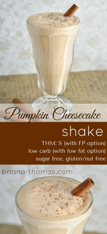 Pumpkin Cheesecake Shake - Briana Thomas