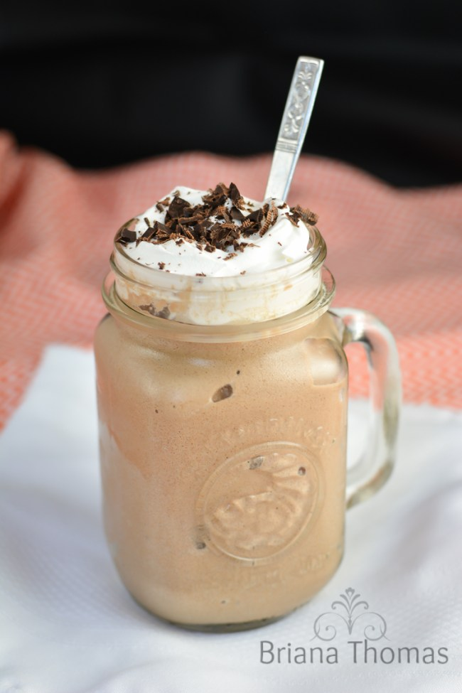Instant Frozen Coffee Pudding - Briana Thomas