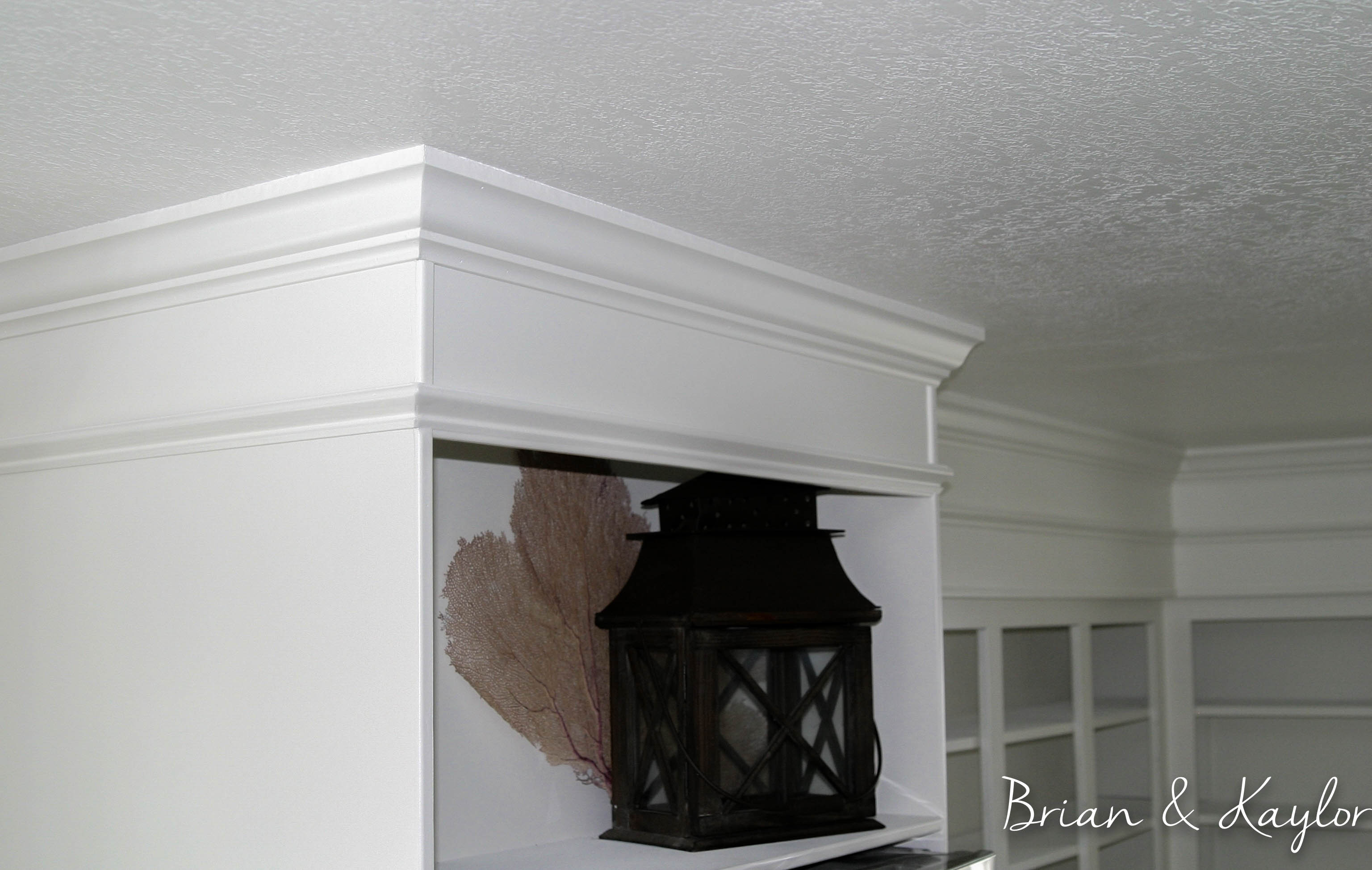 How To Cover Space Above Cabinets