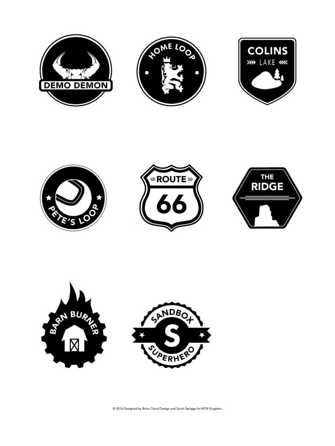 Brian Chard Design Badge and Sticker Design - Brian Chard Design