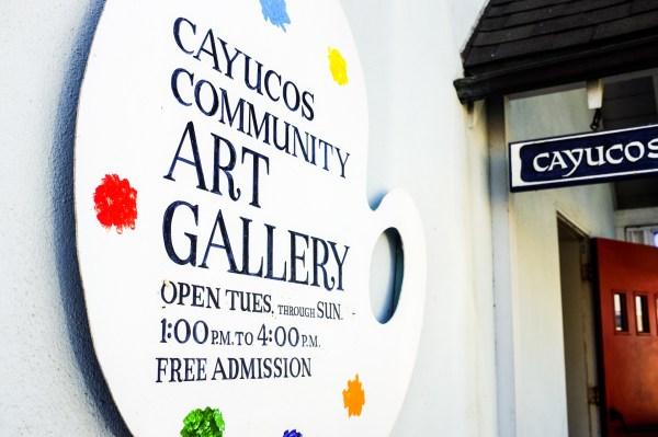 cayucos art gallery