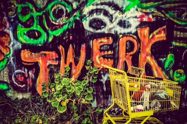 graffiti | photograph by Brian J. Matis
