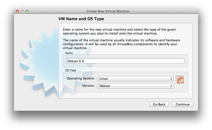 A01 Create New Virtual Machine