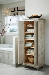 Stand Up Bathroom Cabinet - bldg