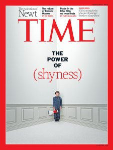 Cover of TIME magazine Feb. 2012
