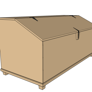 How to build a storage bin