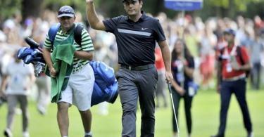 Francesco Molinari, vincitrice di due edizioni dell' Open d'Italia di golf a Monza