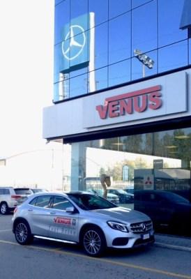 GLA Mercedes Venus