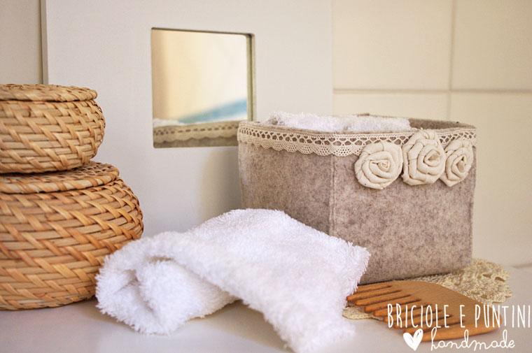 Portalavette perch gli ospiti contano briciole e puntini - Accessori bagno fai da te ...