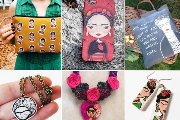 accessori handmade Frida Kahlo Etsy
