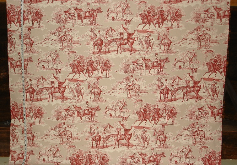 Maine Fall Wallpaper Victorian Horse Toile Fabric New Pattern 09 July 2013