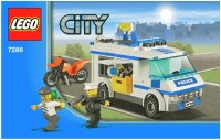 LEGO Police Prisoner Transport Instructions 7286, City