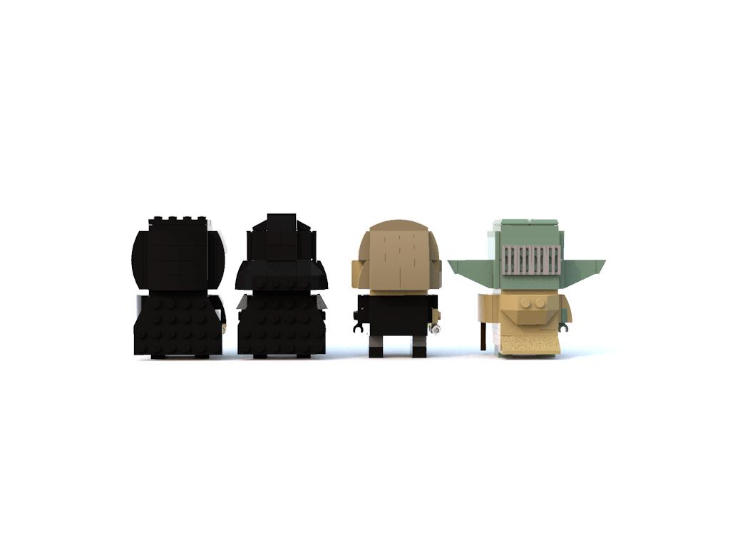 Post Your Star Wars Brickheads Here Lego Star Wars