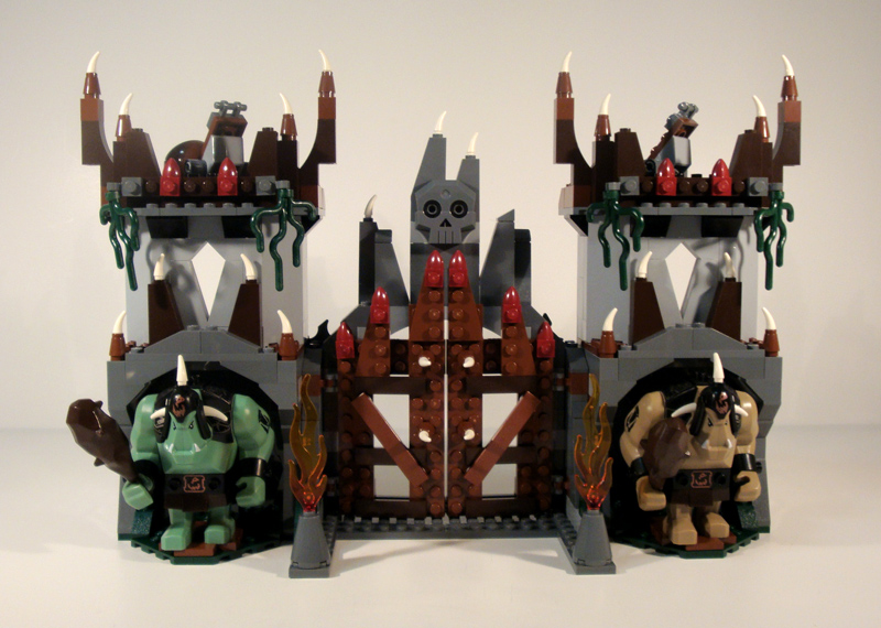 Lego Troll Mountain Fortress 2018 Images Pictures