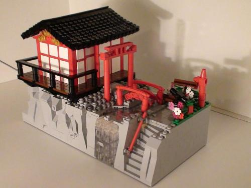 LEGO Japan Shrine Shishi Odoshi