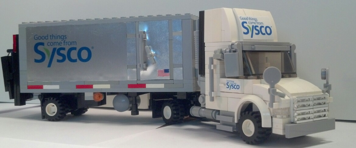 SYSCO Delivery Truck (MOC) - LEGO Town - Eurobricks Forums