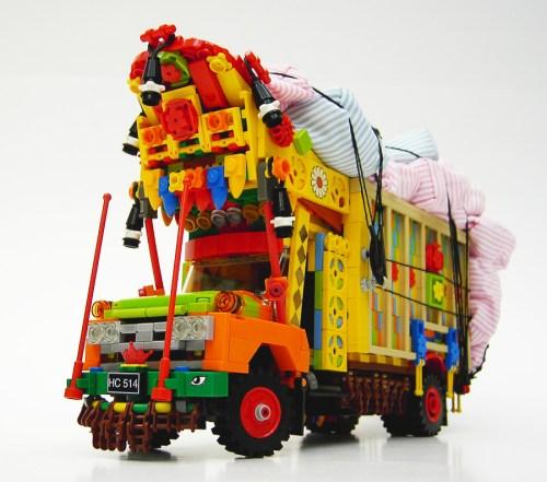 Misterzumbis LEGO Pakistan truck