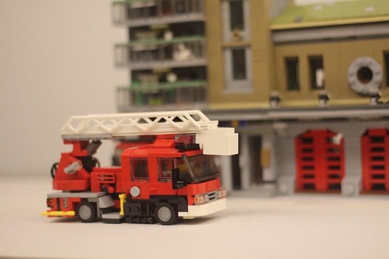 Lego Fire Ladder Truck Ivoiregion
