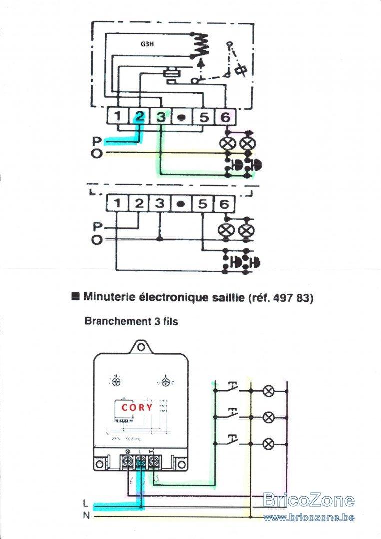 schema cablage for